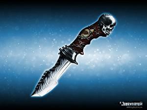 Fotos Hautnah Cranium Survarium Schwert computerspiel