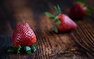 Fotos Großansicht Erdbeeren Lebensmittel