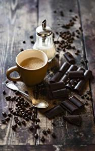 Hintergrundbilder Kaffee Cappuccino Schokolade Bretter Tasse Getreide