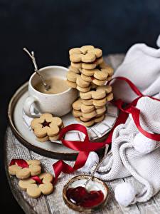 Hintergrundbilder Kaffee Cappuccino Kekse Warenje Stillleben Tasse Band