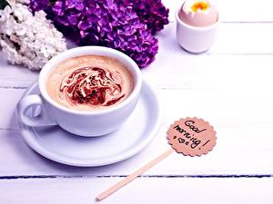 Hintergrundbilder Kaffee Cappuccino Tasse Untertasse Good Morning