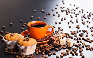 Bilder Kaffee Zimt Sternanis Keks Tasse Getreide das Essen