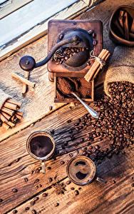 Bilder Kaffee Zimt Sternanis Bretter 2 Tasse Getreide Kinder