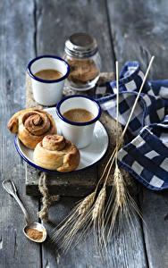 Hintergrundbilder Kaffee Backware Bretter Becher 2 Ähre Löffel