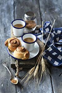 Hintergrundbilder Kaffee Backware Bretter Becher 2 Ähre Löffel Lebensmittel