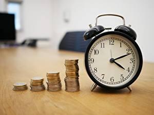 Hintergrundbilder Münze Geld Uhr Zifferblatt Wecker Bokeh
