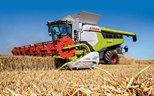 Hintergrundbilder Mähdrescher Acker Landwirtschaftlichen Maschinen Claas Lexion 7700, 2019-