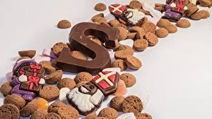 Hintergrundbilder Kekse Schokolade Viel Grauer Hintergrund Lebensmittel
