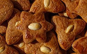 Fotos Kekse Hautnah Schalenobst das Essen