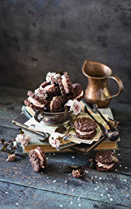 Hintergrundbilder Kekse Bretter Kannen Ast das Essen