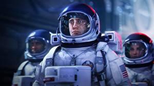 Wallpapers Cosmonaut Interstellar (film) Three 3 Helmet film