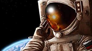 Picture Cosmonauts Helmet