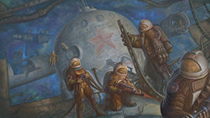 Pictures Cosmonauts Pictorial art Soviet Union