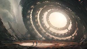 Pictures Cosmonauts Technics Fantasy sci-fi Fantasy