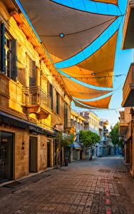 Bilder Republik Zypern Gebäude Straße Nicosia Städte