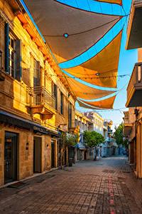 Bilder Republik Zypern Gebäude Straße Nicosia