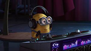 Bilder Ich – Einfach Unverbesserlich 2 Minions Brille Kopfhörer DJ Zeichentrickfilm
