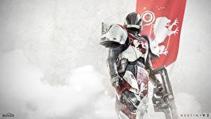 Fotos Destiny 2 Krieger Rüstung Helm Spiele