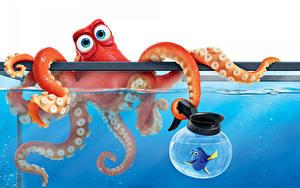 Fonds d'écran Disney Finding Dory 2016 3D_Graphiques