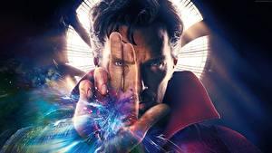 Hintergrundbilder Doctor Strange 2016 Benedict Cumberbatch Magier Hexer Mann Hand Gesicht Film Prominente