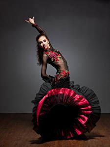 壁纸、、ドレス、ダンス、、