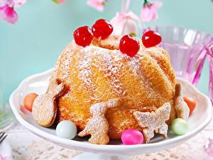 Bilder Ostern Backware Kulitsch Kekse Keks Ei