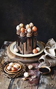 Hintergrundbilder Ostern Süßware Torte Schokolade Eier