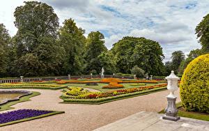 Fotos England Garten Design Rasen Waddesdon Manor
