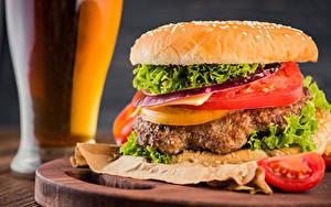 Hintergrundbilder Fast food Burger Brötchen Gemüse
