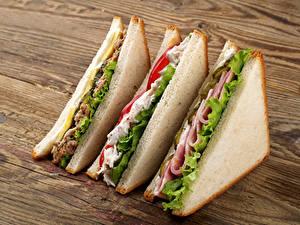 Bilder Fast food Sandwich Brot