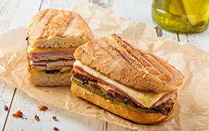 Bilder Fast food Sandwich Brot 2