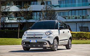 Bilder Fiat Weiß Metallisch 500L 'Hey Google' (330), 2021 automobil