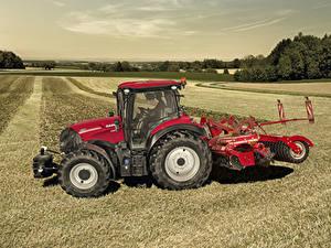 Bilder Acker Landwirtschaftlichen Maschinen Traktoren 2019 Case IH Versum 130 CVXDrive