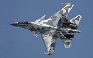 Bilder Flugzeuge Jagdflugzeug Soukhoï Su-30 Russische Su-30MK Luftfahrt