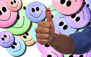 Hintergrundbilder Finger Smilies Hand