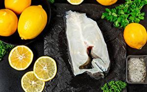 Photo Fish - Food Lemons Salt Food