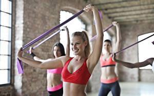 Hintergrundbilder Fitness Hand Körperliche Aktivität junge frau