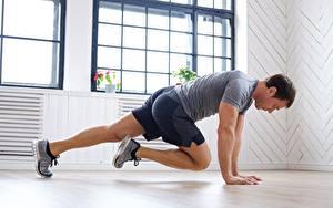 Image Fitness Men Workout Shorts T-shirt sports