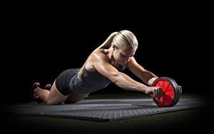 Hintergrundbilder Fitness Trainieren Blond Mädchen Hand Sport Mädchens