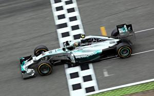 Bilder Formula 1 Mercedes-Benz Nico Rosberg AMG W05 Hybrid V6 1.6l Turbo Hokenheim 2014 sportliches Autos