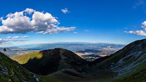 Fotos Frankreich Gebirge Alpen Wolke Schatten Echenevex Natur