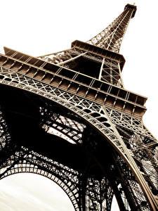 Hintergrundbilder Frankreich Paris Eiffelturm Untersicht Ansicht von unten Städte