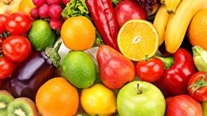 Pictures Fruit Vegetables Pears Apples Tomatoes Pepper Lemons Orange fruit