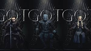 Wallpapers Game of Thrones Sitting Three 3 8 Movies