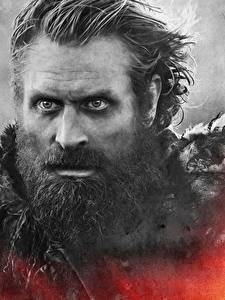 Fonds d'écran Game of Thrones En gros plan Homme Visage Barbe Tormund Giants Death Cinéma
