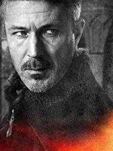 Desktop hintergrundbilder Game of Thrones Mann Hautnah Gesicht Petyr Baelish (Littlefinger) Film Prominente