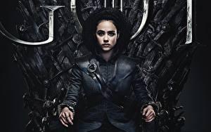 Hintergrundbilder Game of Thrones Sitzend Thron Nathalie 8s Emmanuel Missandei 2019 Film Mädchens Prominente