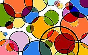 Fotos Geometrie Textur Kreise Bunte