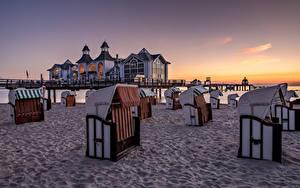 Fotos Deutschland Küste Morgen Strand