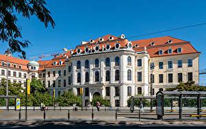 Hintergrundbilder Deutschland Dresden Gebäude Museum Zaun City Museum Städte